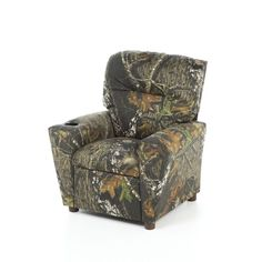 Nice Mossy Oak Camouflage Childrenu0027s Recliner