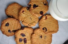 chrumkave cicerove cookiesbez múky