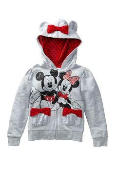 Minnie Mouse Hoodie (Toddler & Little Girls) by Disney on @HauteLook