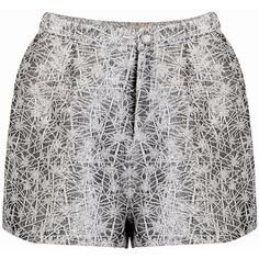 Yoins Fashion Sequin High Waist Shorts ($20) ❤ liked on Polyvore featuring shorts, yoins, black, sequin shorts, crop shorts, high waisted zipper shorts, chiffon shorts and high-rise shorts