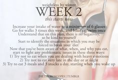 Week 2 - this starts now {I need this week - identify the emotional stresses. That is what kills me!}