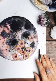 Lune rose, Art de la lune, Luna - Bouche Bouche-Art rosa Luna Informations About Pink Moon, Moon Art, Luna Pin You can easily use my p - Rose Art, Tinta Neon, Arte Sketchbook, Pink Moon, Oeuvre D'art, Nursery Art, Painting & Drawing, Moon Drawing, Moon Painting