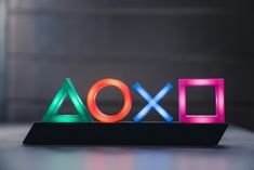 Officially licensed Playstation LED Icon Lamp set a highlight in your gamer lounge! A must-have for every real gamer! Game Room Decor, Room Setup, Game Room Lighting, Video Game Rooms, Xbox Controller, Game Room Design, Gamer Room, Playstation Games, Games Today