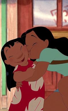 《 Lilo & Nani 》- Lilo et Stitch Disney Pixar, Walt Disney, Disney Films, Disney Cartoons, Disney Magic, Disney Art, Disney Characters, Disney Phone Wallpaper, Cartoon Wallpaper