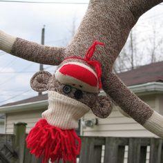 sock monkey!!