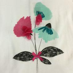 Detalle camiseta amapola Newness kids