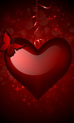 Watch and enjoy our latest collection of free phone wallpaper for your desktop, smartphone or tablet. These free phone wallpaper absolutely free. Free Phone Wallpaper, Red Wallpaper, Heart Wallpaper, Wallpaper Backgrounds, Love Heart Images, Heart Pictures, Coeur Gif, 2 Clipart, Emoji Love