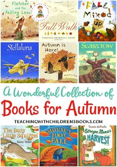 Autumn Has Arrived The Leaves Are Changing And The Temperature Is Dropping. It's The Perfect Time To Curl Up With Some Great Picture Books For Autumn Best Children Books, Toddler Books, Childrens Books, Autumn Activities, Book Activities, Preschool Activities, Kindergarten Books, Preschool Books, Autumn Theme