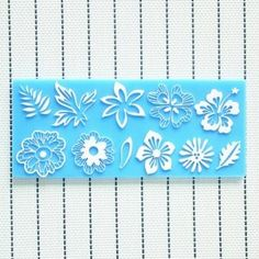 Silicone Flower Leaf Lace Cake Mold Decorations For Cakes Fondant at Banggood