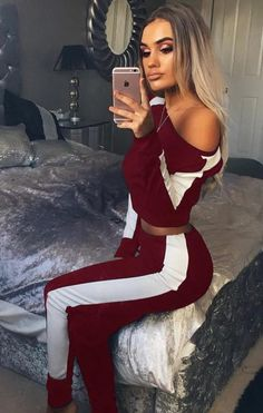 ea461c4150e5e 2018 Spring Summer Sleeveless Tops Skinny Off Shoulder Crop Top And Bandage  Legging 2 Piece Set Women Clothing Knitted Women Set