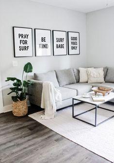 Interior Design Minimalist, Interior Design Tips, Minimalist Decor, Small Home Interior Design, Minimalist Apartment, Modern Small Apartment Design, Interior Decorating, Interior Home Decoration, Decorating Small Apartments