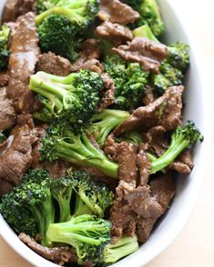Recipe of the Week  Ginger Beef & Broccoli Stir Fry Makes 4 servings From Anne Lindsays New Light Cooking  Marinating sliced beef in a mixture of cornstarch and soy sauce even for ten minutes tenderizes and flavors the beef considerably in this family favourite dish.  The sherry also adds taste and tenderizes but it can be omitted. Serve over brown rice or Chinese noodles. __________________________________ 1 tbsp/15 ml each cornstarch soy sauce and sherry  2 tbsp/30 ml minced gingerroot…