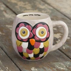 Owl Mugs From Natural Life....can't wait to go back and get this one also!!