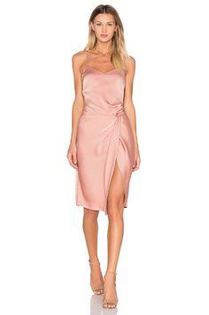 NBD Georgia Dress in Blushed Nude