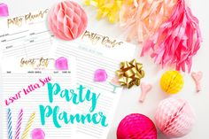 "8.5x11"" Party Planne"