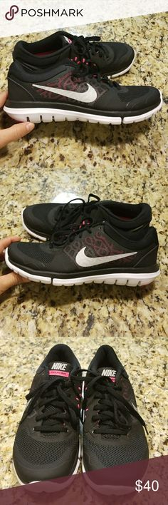 WOMENS NIKE FLEX 2015 RUN #709021-014 Breathability and articulated motion during every run and will keep your feet comfortable from start to finish. Start the New Year staying fit and looking great  (NEW)SNEAKERS SOLE IS A TINY BIT DIRTY OTHER THEN THAT THEY LOOK BEAUTIFUL PLEASE REVIEW ALL PIX😊 Nike Shoes Sneakers