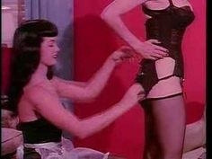 She was also no stranger to burlesque. See Bettie Page assist burlesque legend, Tempest Storm, in Teaserama for a reverse strip, as her sultry maid: Tempest Storm, Irving Klaw, Corset Outfit, Vintage Burlesque, Pin Up Photos, Bettie Page, Successful Women, Showgirls, Vintage Beauty