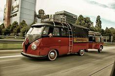 Beau VW sur la route