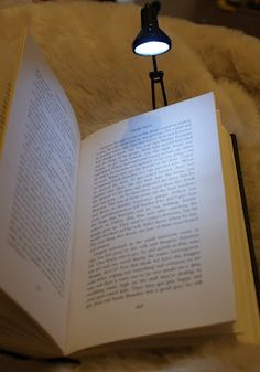 Tiny Tim Book Light