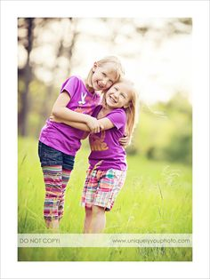 Sisters - fun colors