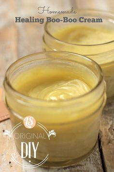 Homemade Neosporin-Like Cream! Healing, soothing, and 100% natural. No nasty chemicals here.