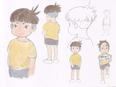 Living Lines Library: 崖の上のポニョ / Ponyo (2008) - Character Design