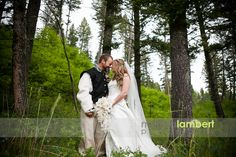 Aly and Isaac's Medieval Wedding at the Woodlands by Merissa Lambert Photography. www.montanawoodlands.com