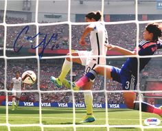Carli Lloyd Autographed 8x10 Photo Team USA PSA/DNA ITP Stock #93089