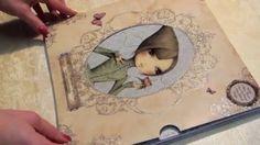 Santoro Mirabelle 12'' x 12'' Premium Paper Pad