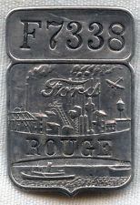 Vintage 1920s-1930s Ford Worker Badge from Rouge Plant (Michigan) #F7338