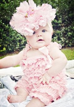 OMG OMG OMG DYING OF CUTE!!!!~~Couture De lovely in Pink Head piecePink Romper Also Available!!