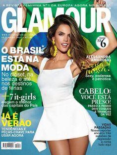 Alessandra Ambrosio for Glamour Brazil - September 2013