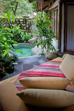 Trave Inspiration for Peru - Inkaterra Machu Picchu Pueblo Hotel, Peru.