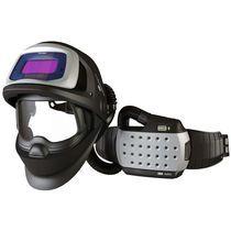 Welding helmet / mask with respirator