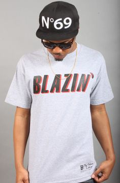 Blazin' Tee The Higher Culture X Breezy Collaboration by Breezy Excursion