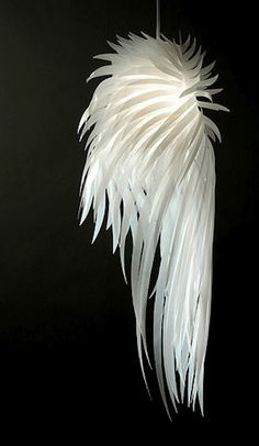 Angel wing lamp - gorgeous!