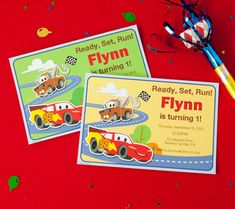 Invites, favors, treats, & more! Celebrate your little racer's 1st birthday with a DIY Cars Party! #DisneyBaby