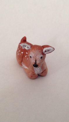 Deer Figurine | Love this.