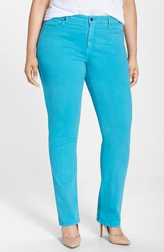 7e14f1e928d CJ by Cookie Johnson  Faith  Stretch Twill Straight Leg Pants (Plus Size)