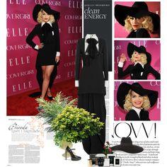 """Rita Ora attends the 4th Annual ELLE Women in Music Celebration"" by chiara3012 on Polyvore"