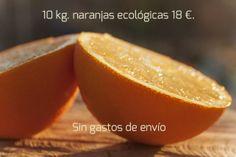 10 kg. de naranjas ecológicas a 18 € en la península.