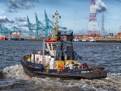 #antwerp #bay #belgium #boat #harbor #hdr #nature #outside #royalty free #structures #tugboat #water