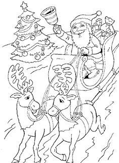 Süßer Weihnachtsengel zum Ausmalen | Weihnachts ausmalbilder ...