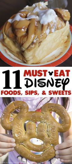 11 MUST-EAT Disney Foods, Sips, & Sweets! #DisneySMMC