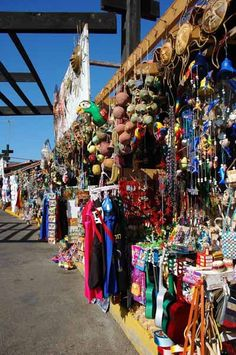 colorful markets Tijuana Mexico