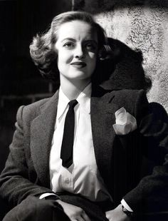 Bette Davis (April 5, 1908 – October 6, 1989), American actress of film, television and theater.