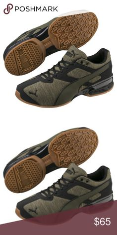 a3e84c7378 Pumas shoes for men Snickers Heathered ripstop upper with synthetic leather  overlays SoftFoam footbed provides long