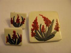 handmade set of jewelry