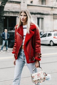 Red Coat | Architect's Fashion