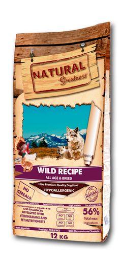 Perros Receta salvaje 2 kg Natural Greatness Baseball Cards, Natural, Dogs, Animales, Pet Dogs, Doggies, Nature, Au Natural
